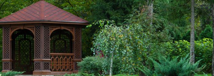 Pavillons aus Holz